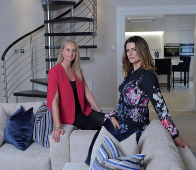 Angelina Ball and Grace MacDonald set up Phoenix Interior Design in 2014 by Photo: Bryan Meade