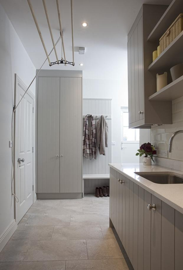Bootroom and utility room storage solutions from Wicklow-based newcastledesign.ie