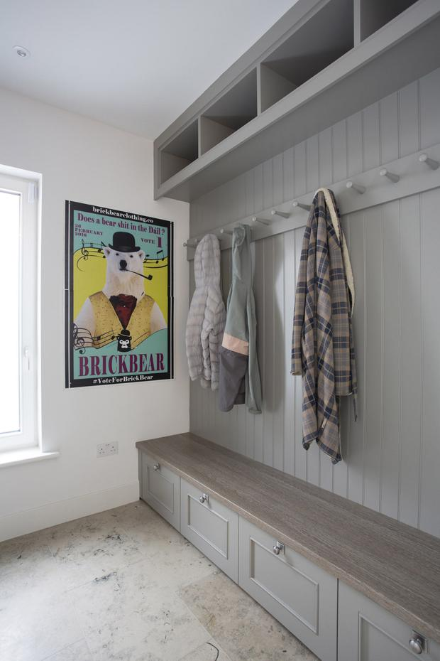 Bootroom storage solutions from Wicklow-based newcastledesign.ie