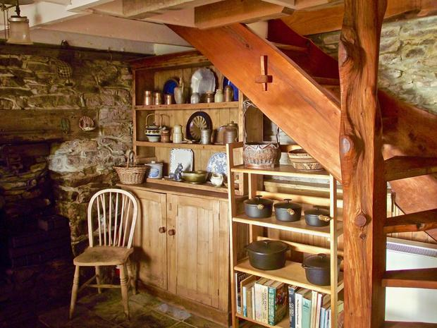 Every element of the main house and cottage has a history