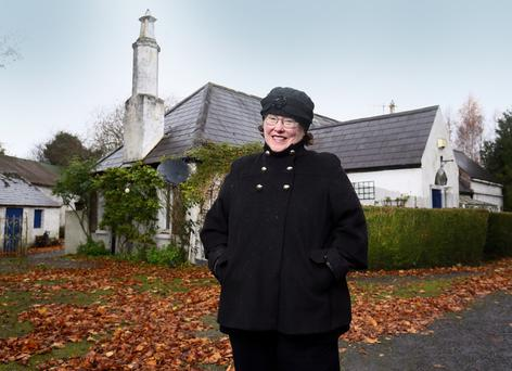 Rev Olive Donohoe bought Apple Cottage from a friend in 2003