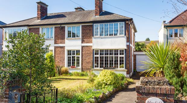 Bungalows, largely constructed from the 1930s through to the 1950s, have been seeing some of the biggest price jumps in the D14 postcode, thanks to high demand and scarcity to market. The price of an average three-bedroom bungalow has jumped from €550,000 to €625,000 over the past 12 months. These were sold mainly to older people down- sizing from much larger houses in the area and wanting to stay close to friends and neighbours.