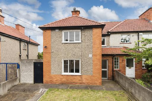 25 Windmill Road, Crumlin, sold twice last year — in April for €225,000 and again in December for €350,000