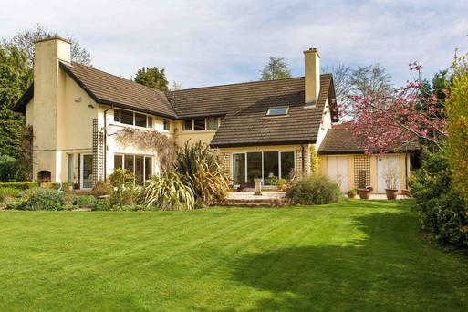 'Greenwood', Brighton Road, Foxrock, was sold last July for €1.44m