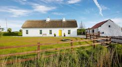 The two-bed cottage in Kilrush