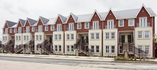 The exterior of the development at Stillorgan Gate on the Upper Kilmacud Road