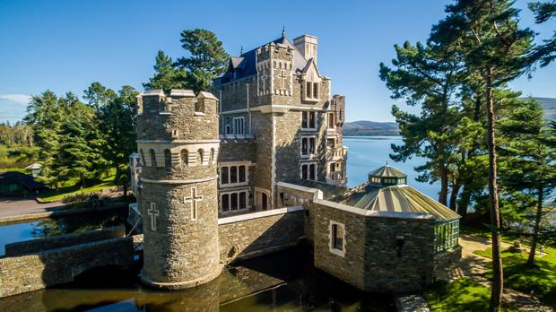 Modern Castle Built By 39 Accident 39 In Kenmare Has Underground Swimming Pool Grotto Minstrel 39 S