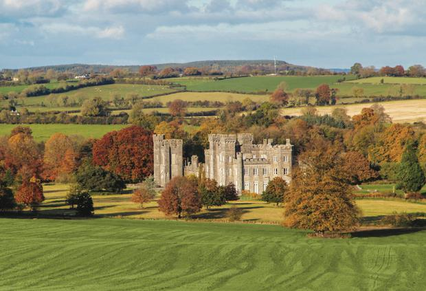 An early Victorian neo-Gothic extravaganza: WinstonChurchill was a regular guest at Knockdrin Castle in Co Westmeath