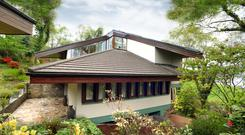 The unusual design is by the Killarney-based architect Harry Wallace