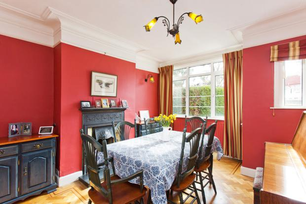 The red diningroom