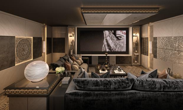 Just like the movies: a high-end media room system by Pulse