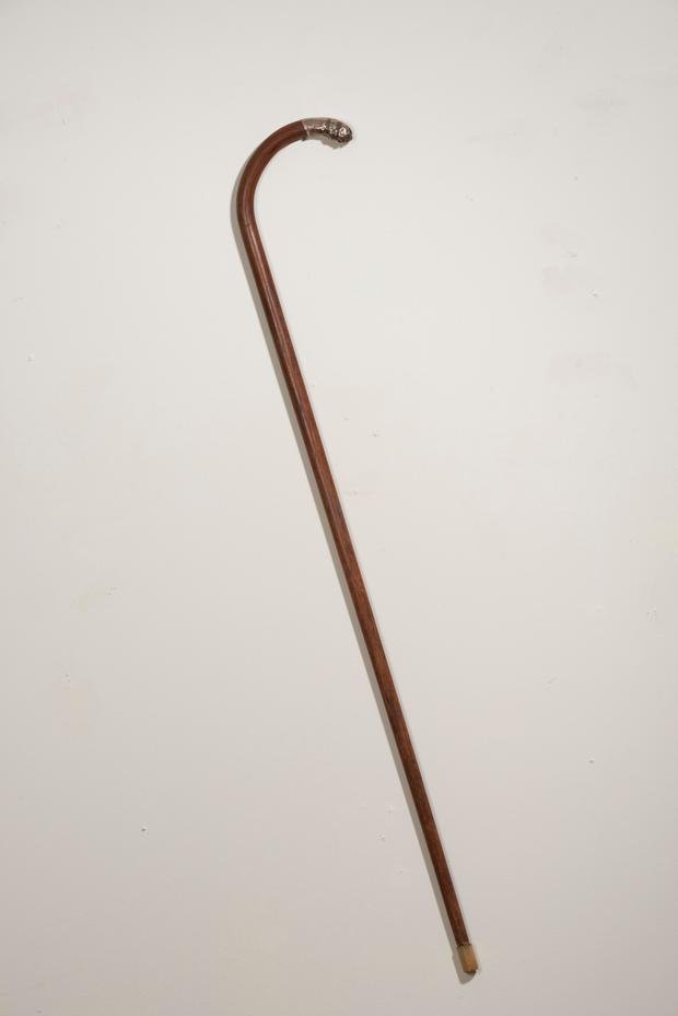 The cane that purportedly belonged to Michael Collins