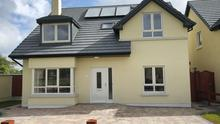 There are two detached homes left in Bunclody
