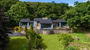 Mark Feehily's lakeside home in Co Sligo that's on the market for €1.15m. Photo: Sherry Fitzgerald
