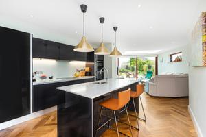 Combining the old and the new: the kitchen/diner