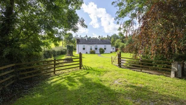 The exterior the cottage near Killycar, in west Cavan