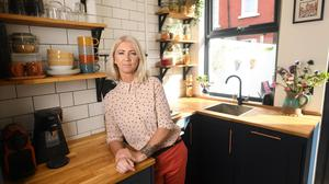 Georgina Wade pictured in her home at No35 Annesley Avenue, North Strand, Dublin 3 PHOTOS: BRYAN MEADE