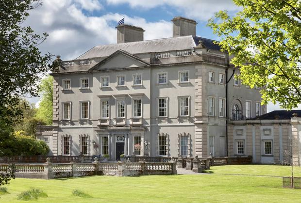 Abbey Leix House was for sale at a price of €20m from Sotheby's