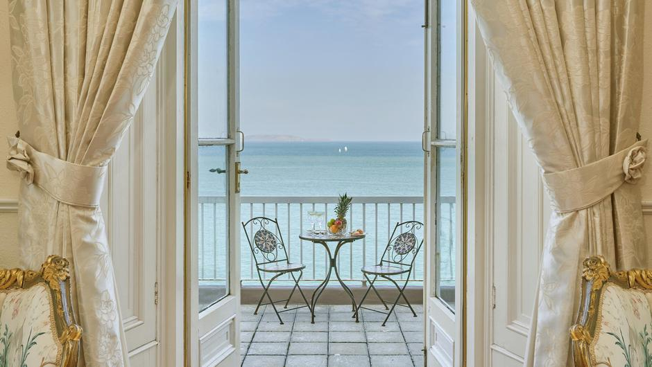 The picture window with sea views
