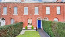 63 Frankfort Avenue is a four-bed period terrace on the market for €850,000