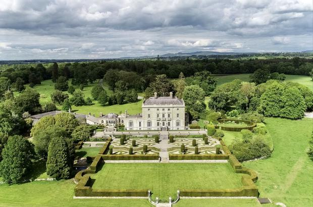 The huge demesne comes with over 1,100 acres
