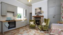 The kitchen of the cottage near Killycar, in west Cavan