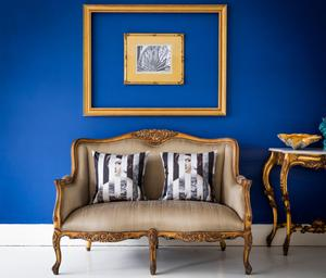 Gold Bedroom Loveseat from the French Bedroom company
