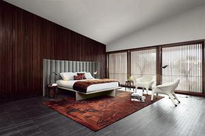 Roche Bobois BACKSTAGE Bed with rug