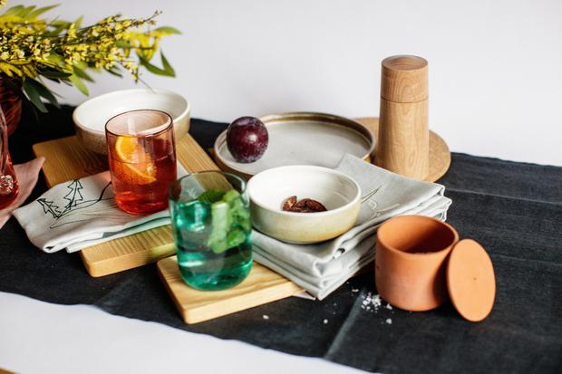 Tablescape from the Irish Design Shop