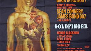 A poster for the James Bond movie 'Goldfinger' sold for €4,000 at Mullen's Collector's Cabinet auction last year