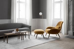 The Fredericia Swoon chair from CA Design