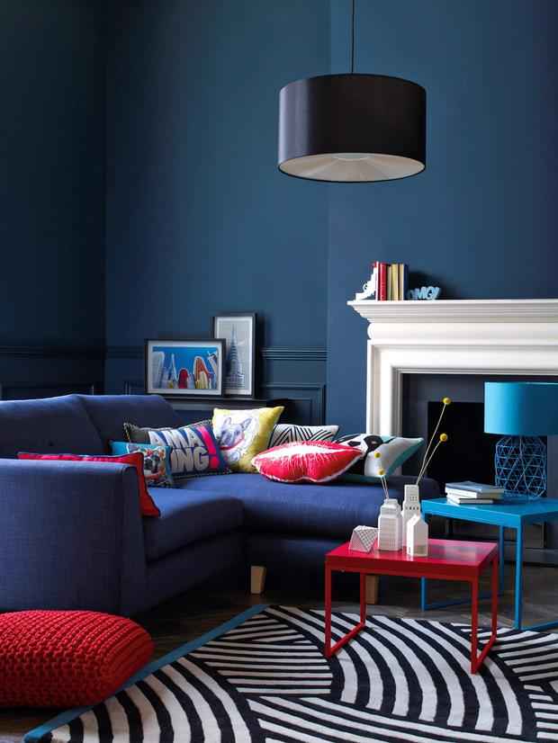 Debenhams decor includes rug, €252; Telight holder, €11.20; and city vases €14 - €16.