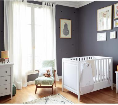 Use a special piece to dictate the colour of the room. Picture: Jacadi Paris