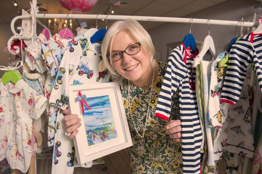 BRIGHTEN UP YOUR LIFE: Catriona Cronin in her shop in Mallow