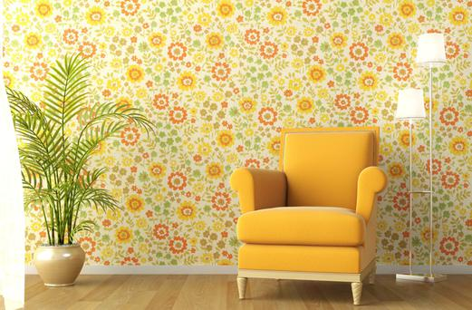 Wallpaper is making a return, but using patterns can be tricky