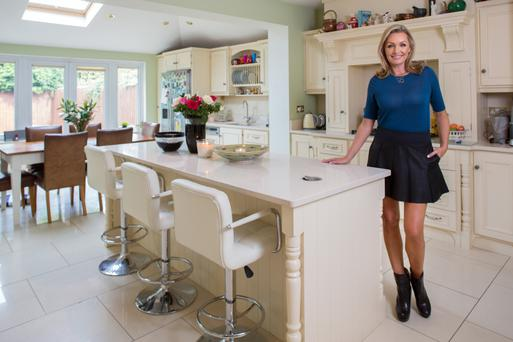 Vivienne Connolly in her country-styke kitchen. Photo: Tony Gavin.