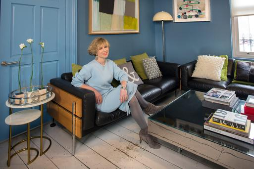 Sonya Lennon: The decor in Sonya's living room was inspired by the Tom Ford-directed film 'A Single Man'.