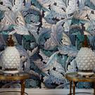 House of Hackney's Acanthus print can be used in bulk, or more sparingly; dust.ie