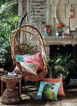 Penneys' 'Road to Morocco' collection includes wicker baskets.