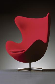 An example of the iconic Egg Chair Photo: Piotr & Co