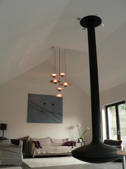 The Cymbal Chandelier was developed with the architect and drummer Greg Tisdall. Made from copper, it bounces a warm light around any room. Prices from €350-€795; shanehollanddesign.com