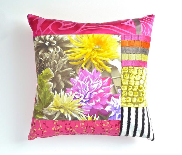 Mallory Cushion, €100 Keep prints confined to smaller areas if larger rugs or wallpapers are too daunting; in-spaces.com