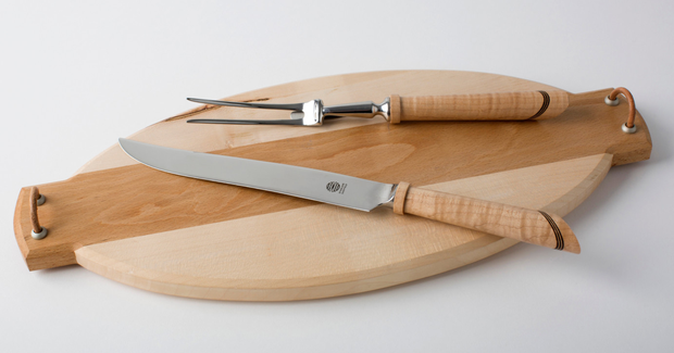 Wooden cheese knife, €25, chaimfactor.com