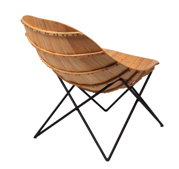 Déanta Carvel Chair, made to order, €5,800; makersandbrothers.com