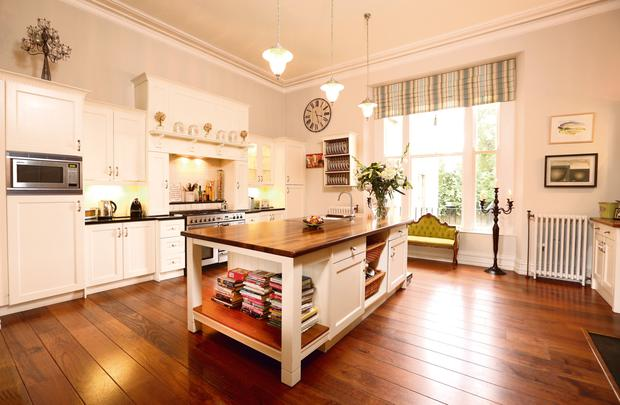 Lorraine Keane: The kitchen is from Customtone, Crumlin, Co Dublin, run by brothers Paul and Philip Malone.