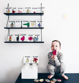 When it came to decorating her son Leon's room, fashion photographer and co-founder of Mutiny Kids (mutinykids.com) Lili Forberg