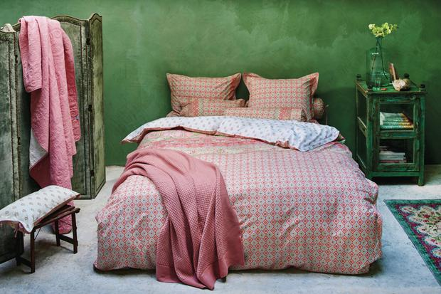 Bed linen from Daisy Park.