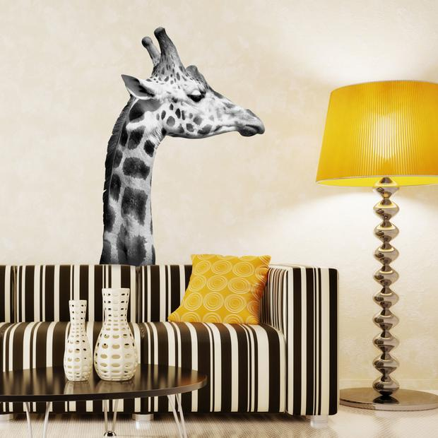Giraffe wall sticker from Oakdene designs