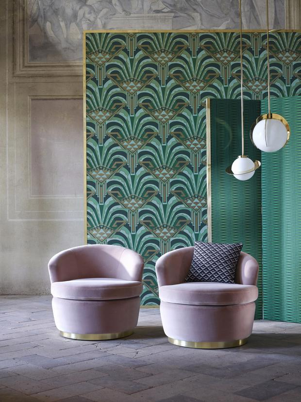Zoffany's The Muse collection from Kevin Kelly interiors