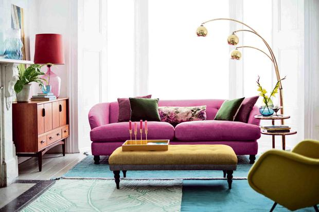 Fliss sofa, from DFS